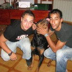 Artur&Toufik con Aron!
