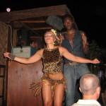 Claudia al suo lavoro di ballerina